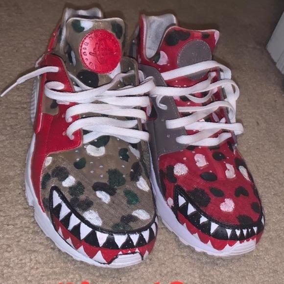 Nike Shoes | Bape Huaraches | Poshmark